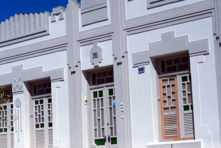 Diálogo de tempos, reminiscências do Art Decó<br />Foto Fabio Lima