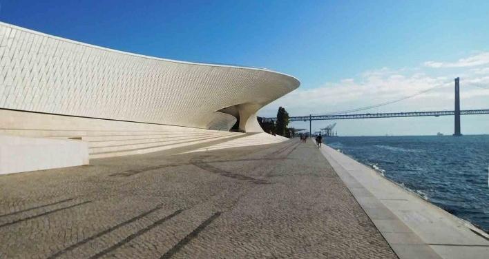 MAAT, às margens do Tejo, Lisboa, arquiteta Amanda Lavete <br />Foto Anita Di Marco