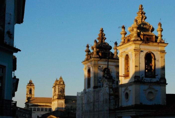 Centro Histórico de Salvador, cidade alta, aspecto da igreja de Nossa Senhora do Rosário dos Pretos no Largo do Pelourinho<br />foto Fabio Jose Martins de Lima