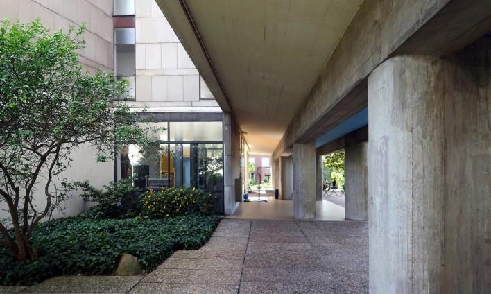 Pavilhão Suíço, Cidade Universitária de Paris, 1931. Arquiteto Le Corbusier<br />Foto Victor Hugo Mori