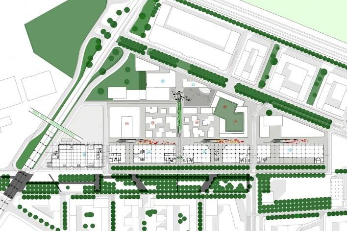 Plano Urbano do Complexo Strijp - S, Eindhoven, Holanda<br />Foto divulgação