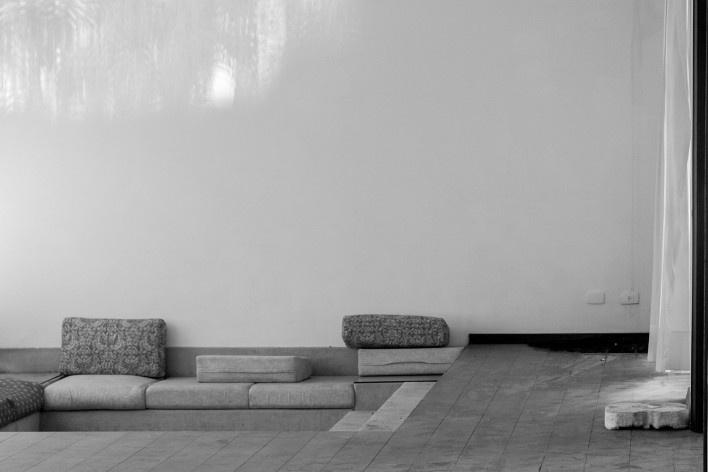 Residência da Rua Aquidaban, Joinville SC. Arquiteto Antonio Alberto Cortez<br />Foto Larry Sestrem