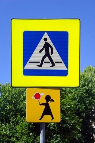 Placa em Varsóvia, Polônia<br />Foto Roney Cytrynowicz