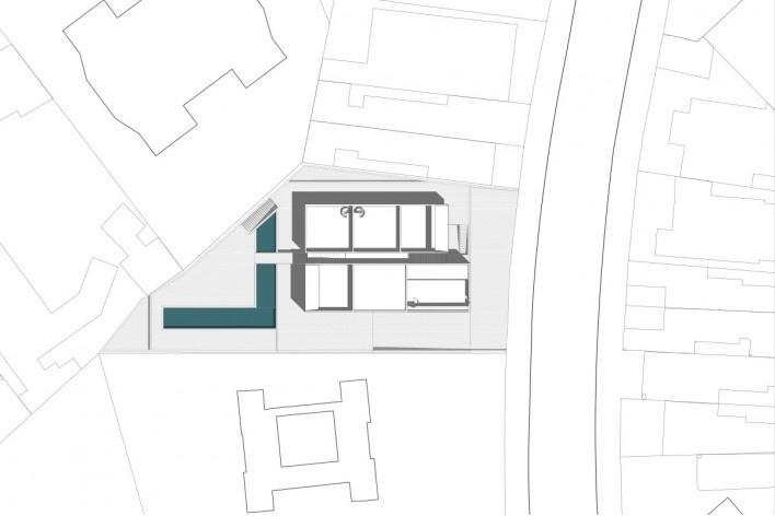 Residencial Huma Klabin, implantação, Vila Mariana, São Paulo, 2016, escritório UNA Arquitetos<br />Imagem divulgação