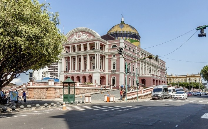 Teatro Amazonas, Manaus<br />Foto Karina Tengan e Rafael Schimidt