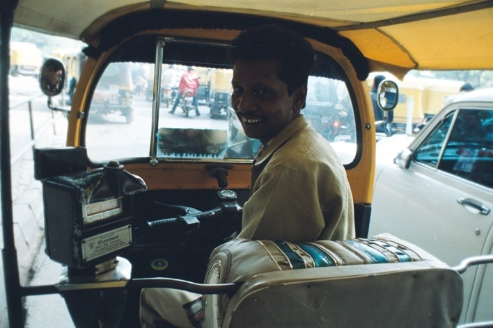 Rickshaw, Bangaloore, Índia<br />Foto Fabricio Fernandes
