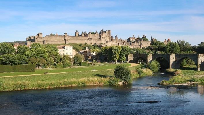 Carcassonne, França<br />Foto Victor Hugo Mori