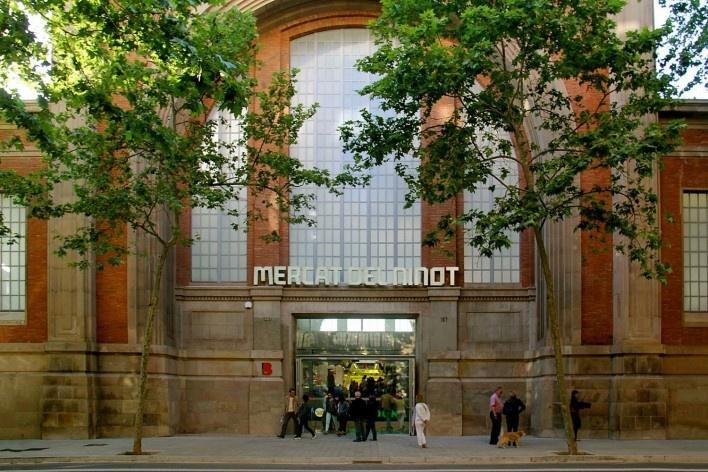 Mercado del Ninot, Barcelona, Espanha<br />Foto Celma Chaves