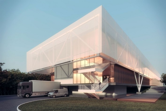 . Centro Cultural de Eventos e Exposições – Nova Friburgo, 1º lugar, Estúdio 41 [Estúdio 41]