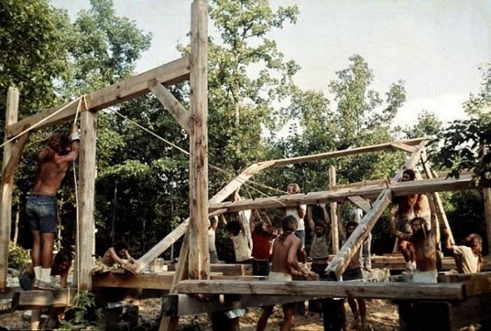 Camp Taylor, comunidade alternativa, 2013<br />Foto divulgação  [Life Magazine]