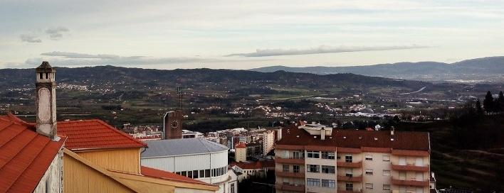 Covilhã, vista da cidade a beira da serra, março 2017<br />Foto Carolina Guida Cardoso do Carmo