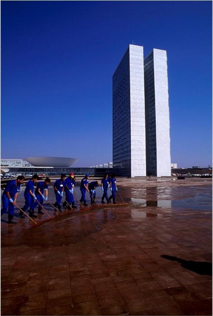 Congresso nacional, 1992<br />Foto Salomon Cytrynowicz