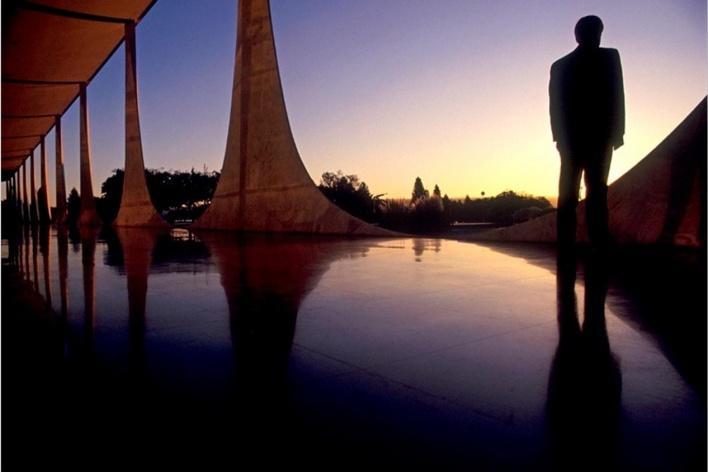 Palácio da alvorada, 2003<br />Foto Salomon Cytrynowicz