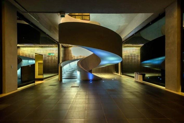 Masdar City, escritório Foster + Partners<br />Foto Gustavo Takatori