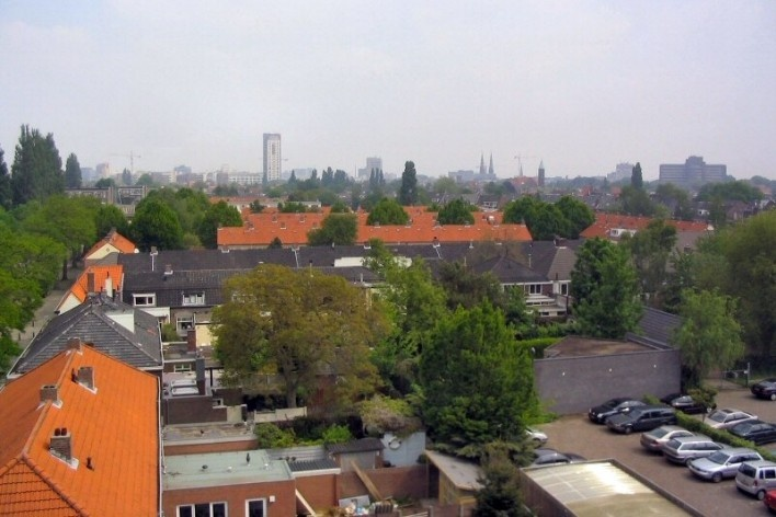 Vista do centro de Eindhoven<br />Foto David Eerdmans  [Wikimedia Commons]