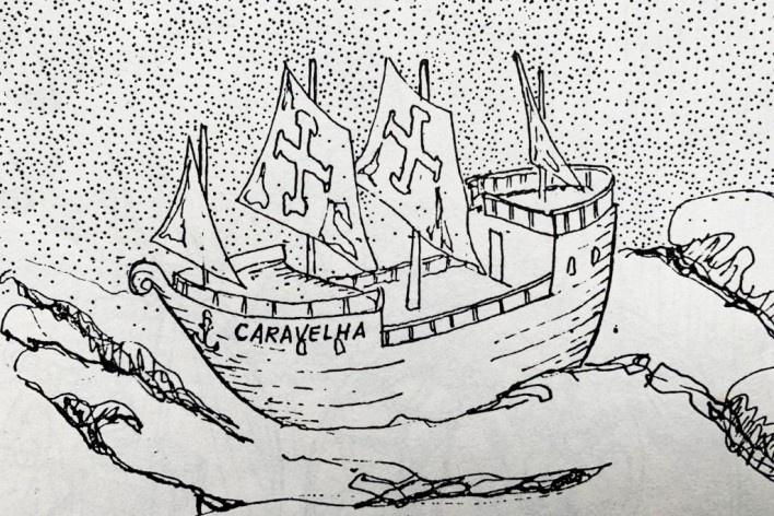 Caravelha<br />Ilustração AG, 1983