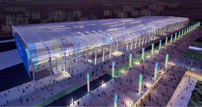 Olympic Indoor Training Center<br />Rio 2016/BCMF Arquitetos