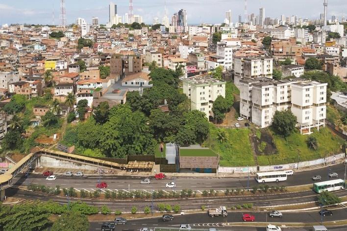 Casa de Òsùmàrè, Salvador, 2017. Escritório Brasil Arquitetura<br />Foto divulgação