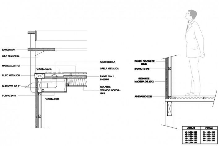 Casa do Felix, detalhes técnicos, Praia do Felix, Ubatuba SP, arquiteto Silvio Sant'Anna<br />Imagem divulgação