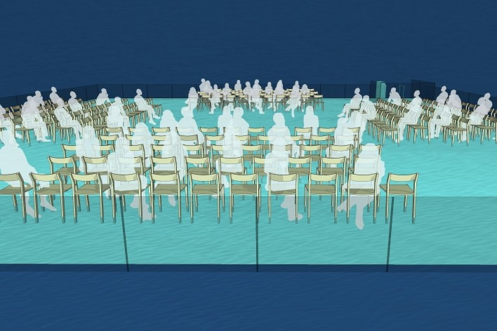 Spree river theatre, possibilities of usages. Carlos M. Teixeira