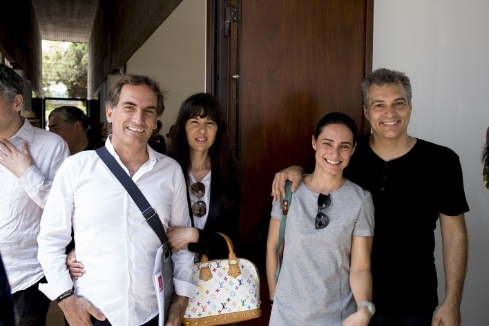 José Mateus, arquiteto português, e Leonardo Finotti, fotógrafo brasileiro<br />Foto Flavio Coddou
