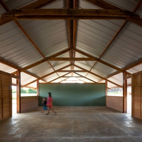 Xingu Canopies, Xingu National Park, São Félix do Araguaia MT Brasil, 2017. Architect Gustavo Utrabo (author) / Estúdio Gustavo Utrabo<br />Foto / photo Pedro Kok