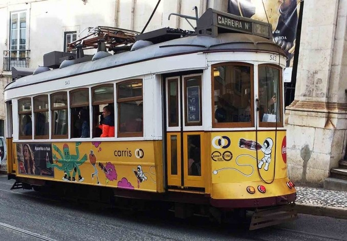 O famoso eléctrico de Lisboa, imperdível<br />Foto Anita Di Marco