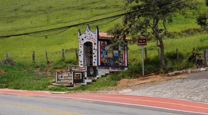 Perfil da Capela de Mosaico II<br />Foto Bianca Siqueira Martins Domingos