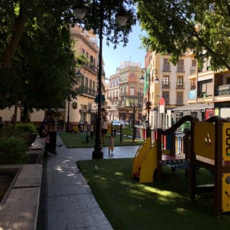 Praça de la Alfalfa, Sevilha<br />Foto José Lira