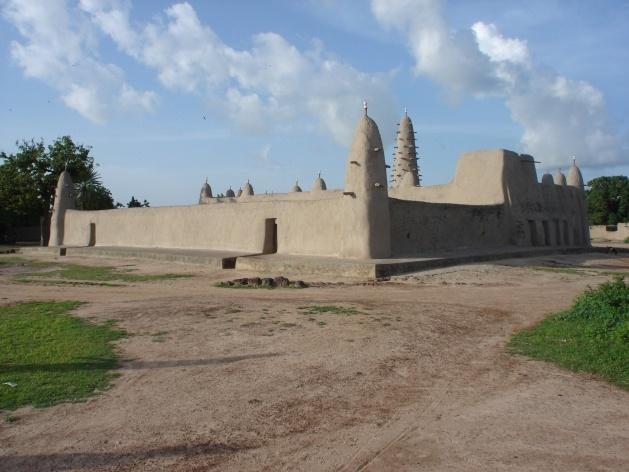 Mesquita de Ouahabou, Burkina-Faso<br />Foto Renato Barbieri