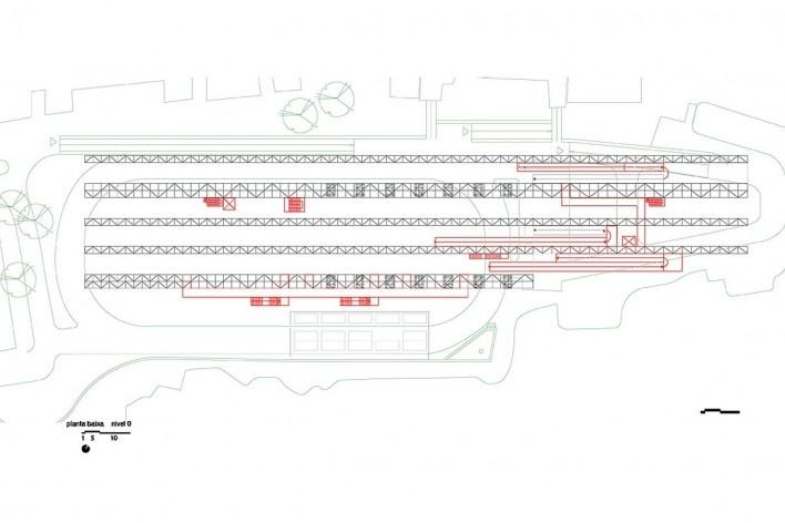 Planta baixa nível 00 - Pavilhão Humanidade 2012, Rio+ 20<br />divulgação
