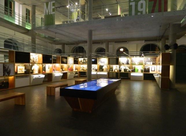 Arquiteto Ney Caldatto, Museu Pelé. Santos, 2014<br />Foto Ney Caldatto