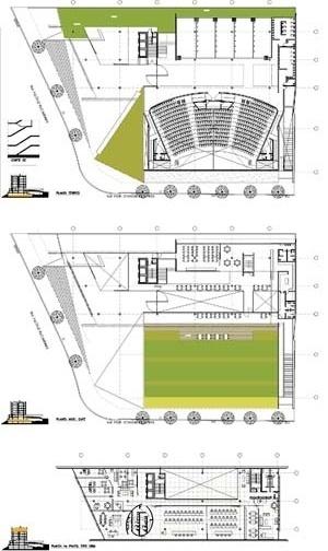 Plantas<br />Imagem dos autores do projeto