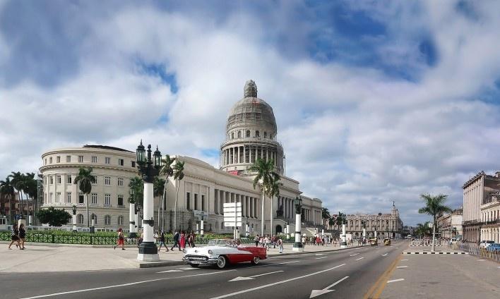 Capitólio no Paseo del Prado, Habana Vieja, Cuba<br />Foto Victor Hugo Mori