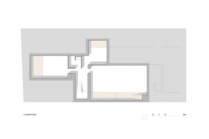 Nível -1 Casa no Juso. Projeto ARX Portugal + Stefano Riva, 2011<br />divulgação