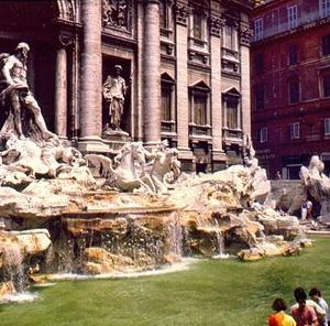 Fontana di Trevi, Roma. [Foto Eduardo Barra]