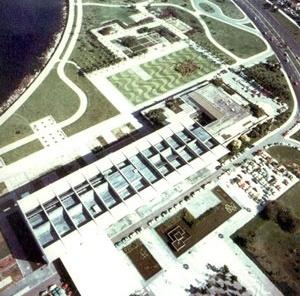 MAM-RJ, arquitetura de Affonso Reidy, paisagismo