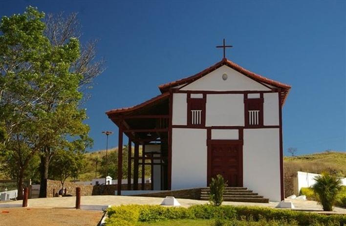Igreja em Pilar de Goiás GO<br />Foto Marco Antônio Galvão