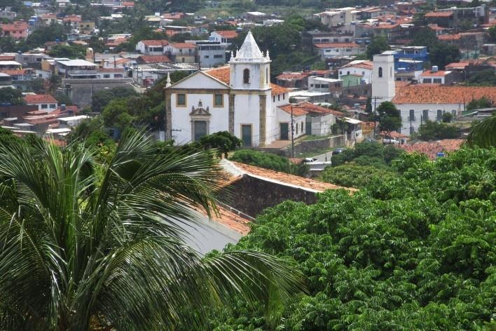 Igreja São João Batista, Olinda<br />Foto Victor Hugo Mori