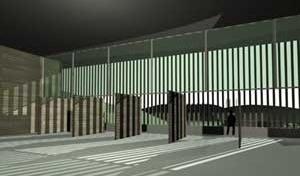 Memorial – Perspectiva interna<br />Imagem dos autores do projeto