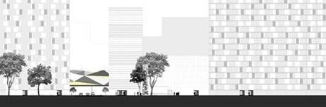 Vista por paralela à Amaral Gurgel<br />Imagem do autor do projeto