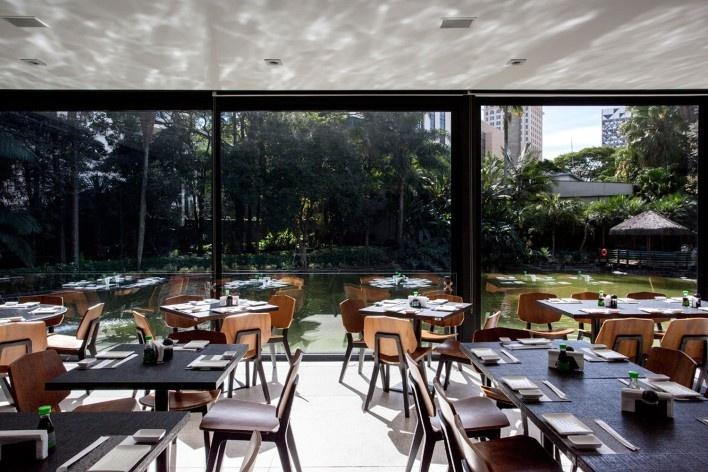 Restaurante do Lago<br />Foto Ana Mello
