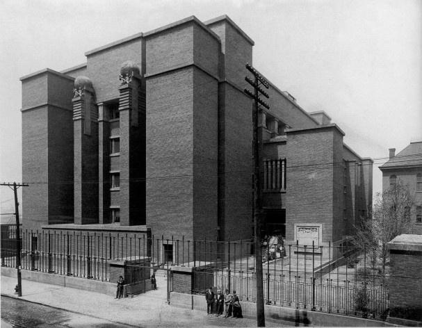 Edifício Larkin, Buffalo, Nova York, EUA, 1905. Arquiteto Frank Lloyd Wright<br />Foto divulgação / Foto reproducción