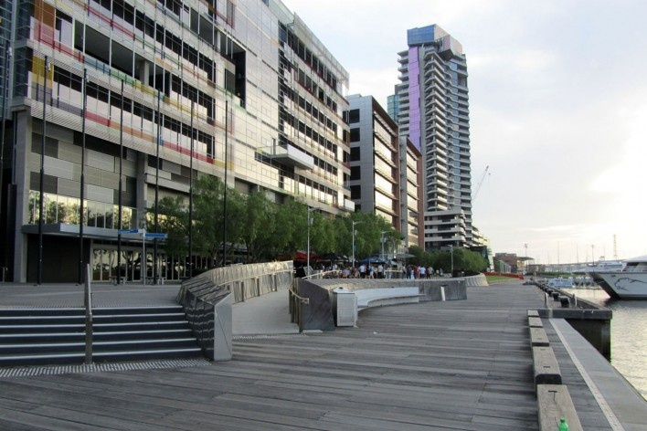 Docklands<br />Foto Gabriela Celani