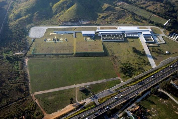 Deodoro Shooting Center Pan 2007<br />Rio 2016/BCMF Arquitetos