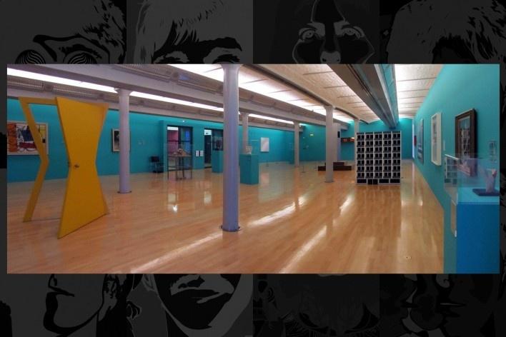 Tate Gallery, sala de exposição do acervo permanente<br />Foto Victor Hugo Mori