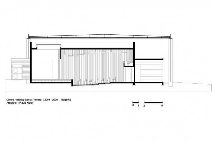 Figura 4: Teatro – corte