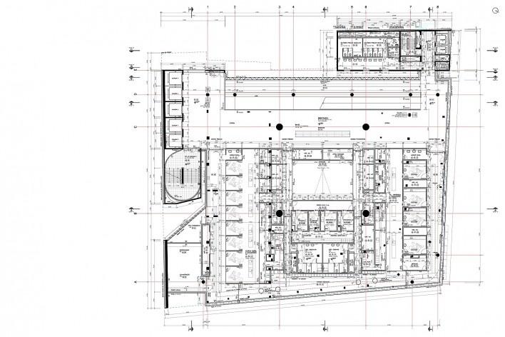 Sesc 24 de Maio, 7º pavimento, odontologia, Paulo Mendes da Rocha + MMBB Arquitetos, São Paulo<br />Imagem divulgação