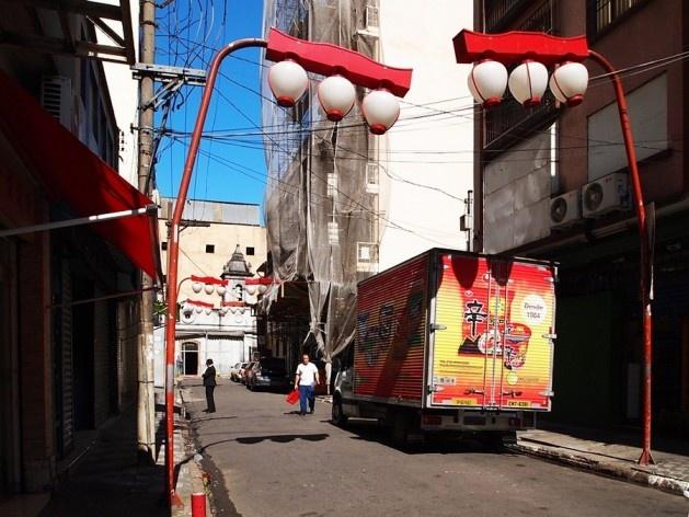 Bairro da Liberdade, São Paulo, Beco dos Aflitos<br />Foto Denise Geribello