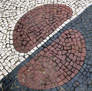 calçada de Santos<br />Foto Flávio Magalhães